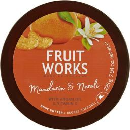 Grace Cole Fruit Works Body Butter masło do ciała Mandarynka & Neroli 225ml