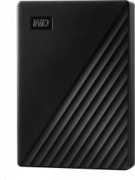 Dysk zewnętrzny Western Digital HDD My Passport 4 TB Czarny (WDBPKJ0040BBK-WESN)