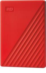 Dysk zewnętrzny Western Digital HDD My Passport 2 TB Czerwony (WDBYVG0020BRD-WESN)