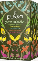 Pukka Herbs PUKKA_Herbata organiczna Green Collection 20 torebek 32g