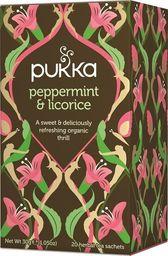 Pukka PUKKA_Herbata organiczna Mięta Pieprzowa & Lukrecja 20 torebek 30g