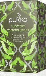 Pukka PUKKA_Herbata organiczna zielona z herbatą Matcha 20 torebek 30g