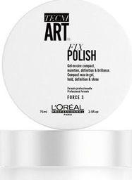 L'Oreal Professionnel LOREAL PROFESSIONNEL_Tecni Art Fix Polish Compact Wax-In-Gel żel w wosku z karmelem 75ml