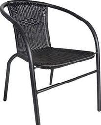 TeamVeovision Krzesło ogrodowe, balkonowe O13 poliRATTAN