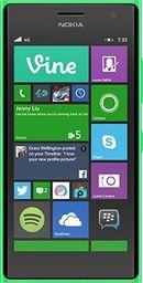 Smartfon Nokia Lumia 735 8 GB Zielony