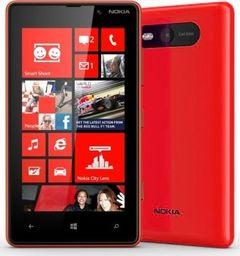 Smartfon Nokia Lumia 820 8 GB Czerwony