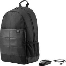 "Plecak HP Zestaw HP Classic Backpack plecak do notebooka 15.6"" + mysz optyczna USB (czarny)"
