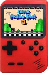 Retro FC Mini konsola przenośna Retro 168 gier - Czerwony