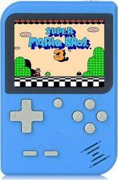 Retro FC Mini konsola przenośna Retro 168 gier - Niebieska