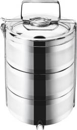 Orion Termos obiadowy 3-poziomy 3.3L srebrny