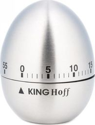 Minutnik KingHoff mechaniczny srebrny