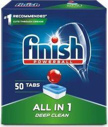 Finish FINISH_Powerball All In 1 Max tabletki do mycia naczyń w zmywarkach 50szt