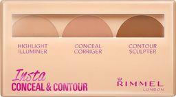 Rimmel  RIMMEL_Insta Conceal Contour paleta do konturowania twarzy 020 Medium 8,4g