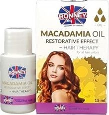 Ronney Macadamia Oil Restorative Effect Hair Therapy regenerujący olejek do włosów 15ml