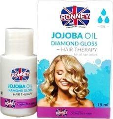 Ronney Jojoba Oil Professional Hair Diamond Gloss nabłyszczający olejek do włosów Diamentowy Połysk 15ml