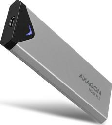 Kieszeń Axagon USB-C 3.2 M.2 NVMe SSD metalowa