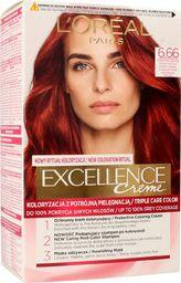 L'Oreal Paris LOREAL_Excellence Creme farba do włosów 6.66 Intensywna Czerwień