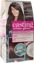 L'Oreal Paris LOREAL_Casting Creme Gloss farba do włosów 3102 Chłodny Ciemny Brąz