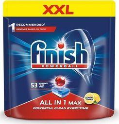 Finish FINISH_Powerball All In 1 Max tabletki do mycia naczyń w zmywarkach Lemon 53szt