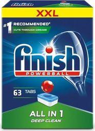 Finish FINISH_Powerball All In 1 Max tabletki do mycia naczyń w zmywarkach 63szt
