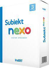 Program Insert Subiekt NEXO box (SN3)