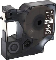 Strefa Drukarek Dymo D1 zamiennik 45021 12mm x 7m