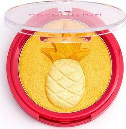 Makeup Revolution I Heart Revolution Rozświetlacz Fruity Highlighter Pineapple