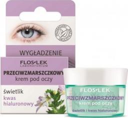 FLOSLEK Krem pod oczy Pielęgnacja oczu Świetlik-Kwas Hialuronowy przeciwzmarszczkowy 15ml