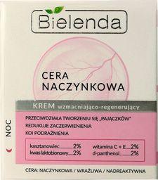 Bielenda Krem do twarzy Cera Naczynkowa wzmacniająco-regenerujący 50ml