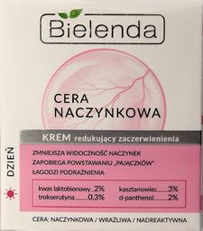 Bielenda Krem do twarzy Cera Naczynkowa redukujący zaczerwienienia 50ml
