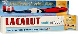 Lacalut  Pasta do zębów Multi-Effect 5w1 75ml + szczoteczka