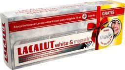 Lacalut  Pasta do zębów White & Repair 75ml + lusterko