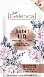 Bielenda Japan Lift Rewitalizująca Maseczka przeciwzmarszczkowa - saszetka  8g