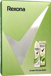Rexona  Rexona Zestaw prezentowy Aloe (dezodorant spray 150ml+ żel pod prysznic 250ml)