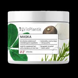 Elfa Pharm Vis Plantis Vegan Friendly Maska do włosów osłabionych i wypadających-Kozieradka,Skrzyp i Rzepa  400ml