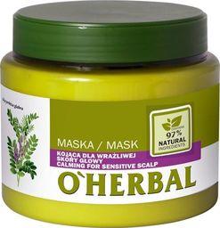 Elfa Pharm O'Herbal Maska kojąca do wrażliwej skóry głowy - Lukrecja  500ml