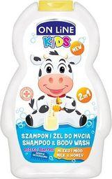 FORTE SWEEDEN On Line Kids Szampon 2w1 Mleko i miód  250ml