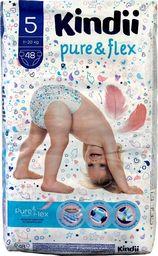 Kindii Kindii Pure & Flex Pieluchy jednorazowe 5 (11-20kg)  1op.-48szt