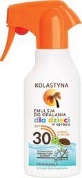 Kolastyna Kolastyna Opalanie Emulsja do opalania dla dzieci SPF30 spray  200ml