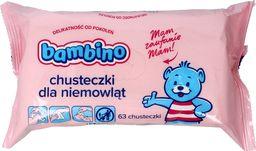 Bambino Chusteczki - wkład 1 opakowanie 63 sztuk