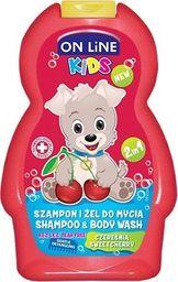 On Line On Line Kids Szampon 2w1 Czereśnia  250ml