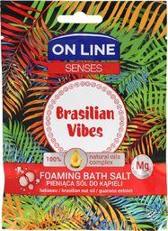 On Line Sól do kąpieli Senses Brasilian Vibes 80g