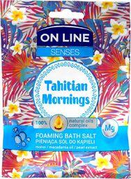 On Line Sól do kąpieli Senses Tahitian Mornings 80g