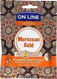 On Line Sól do kąpieli Senses Moroccan Gold 80g