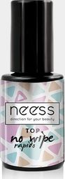 NEESS NEESS Top No Wipe Rapido na lakier hybrydowy 4ml