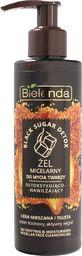 Bielenda Żel do mycia twarzy Black Sugar Detox detoksykująco-nawilżający 200g
