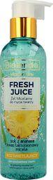 Bielenda Bielenda Fresh Juice Żel micelarny rozświetlający z wodą cytrusową Ananas 190g