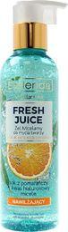 Bielenda Bielenda Fresh Juice Żel micelarny nawilżający z wodą cytrusową Pomarańcza 190g