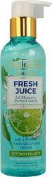 Bielenda Bielenda Fresh Juice Żel micelarny detoksykujący z wodą cytrusową Limonka 190g
