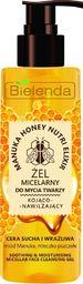 Bielenda Bielenda Manuka Honey Nutri Elixir Żel micelarny do mycia twarzy kojąco-nawilżający 200g